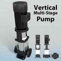 Vertical Multi Stage Pump 2-1/2in