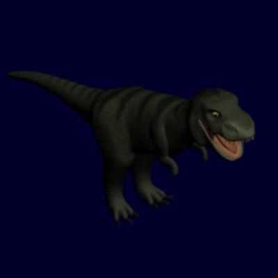 3d tyrannosaurus rex tyrannosaur