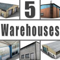 5 Warehouses