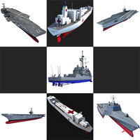 navy ship 3d max
