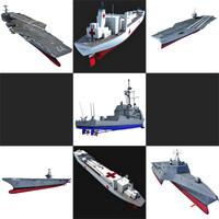US Navy Ships V10