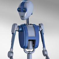 maya robot humanoid functional