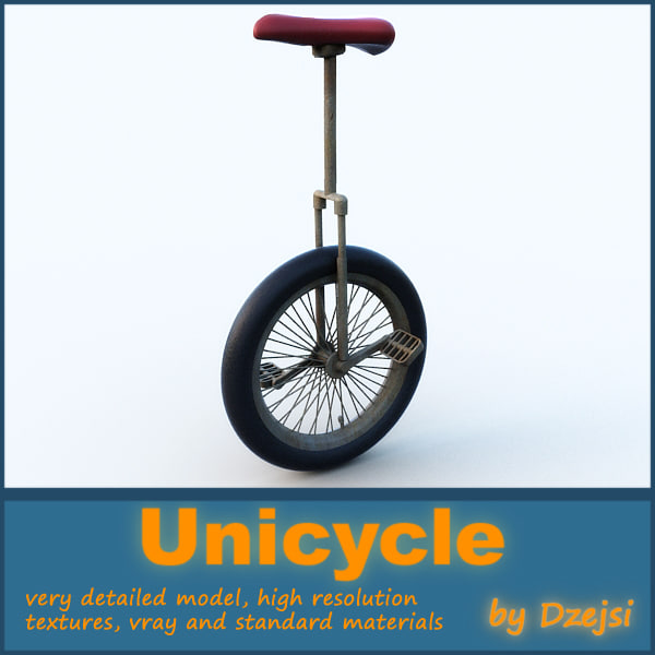 3d unicycle model