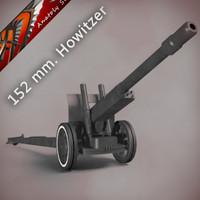 152 mm howitzer-gun ML-20