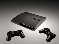 play station 3 3d model