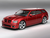 3d dodge magnum 2008 model
