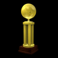 3d basketball trophy