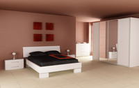 bedroom interior 02a 3d model