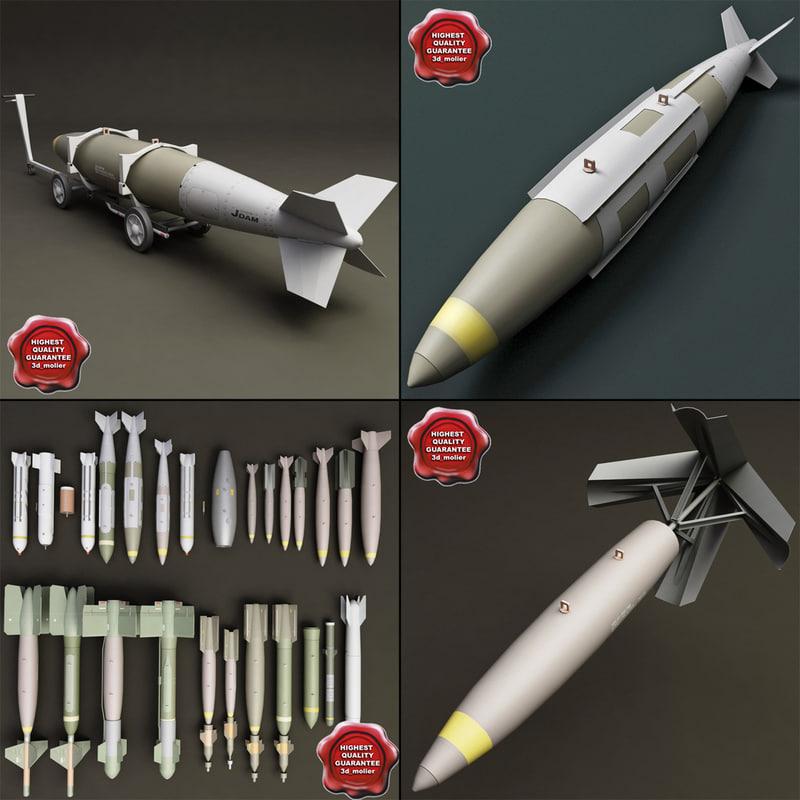 bomb cart v4 3d 3ds