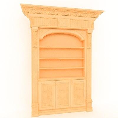classical decoration interior 3d 3ds