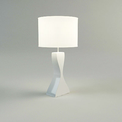 table lamp materials 3d model