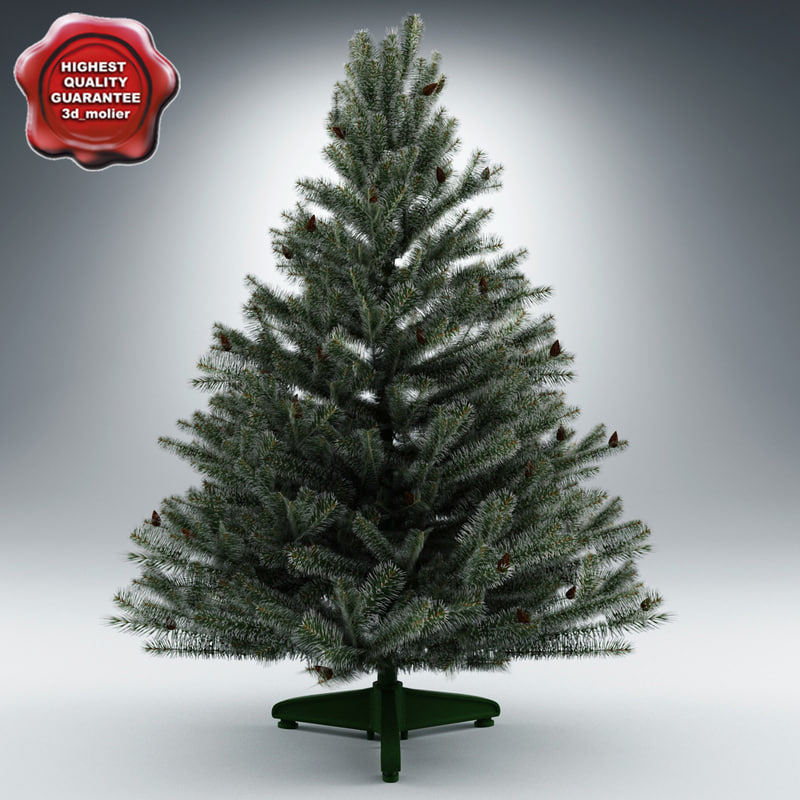 new year tree v12 3d model