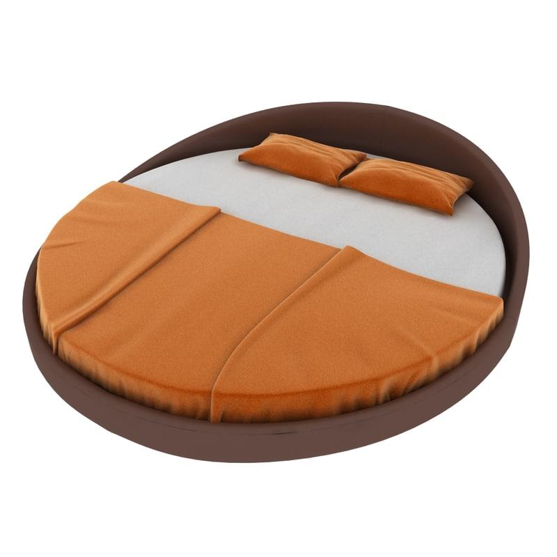 ipe cavalli bed - 3d max