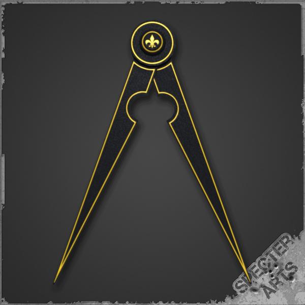 3ds pair compasses tool