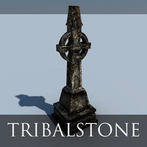 grave 3d model