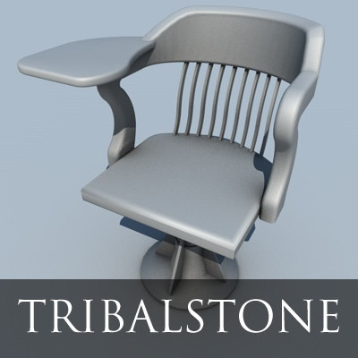 3d medical leaning chair model