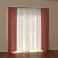 curtain light windows 3ds