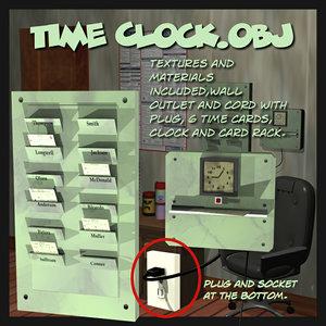 obj timeclock time clock