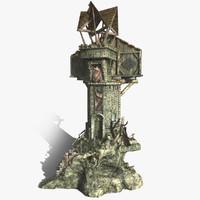 Fantasy Watch Tower