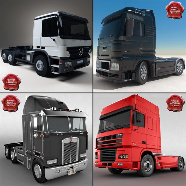 trucks v4 3d max