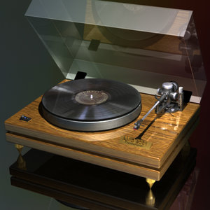 3d manual turntable