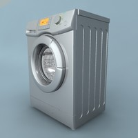 3d model washer frontal