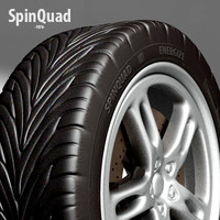 3d tyre - vehicle uv maps model