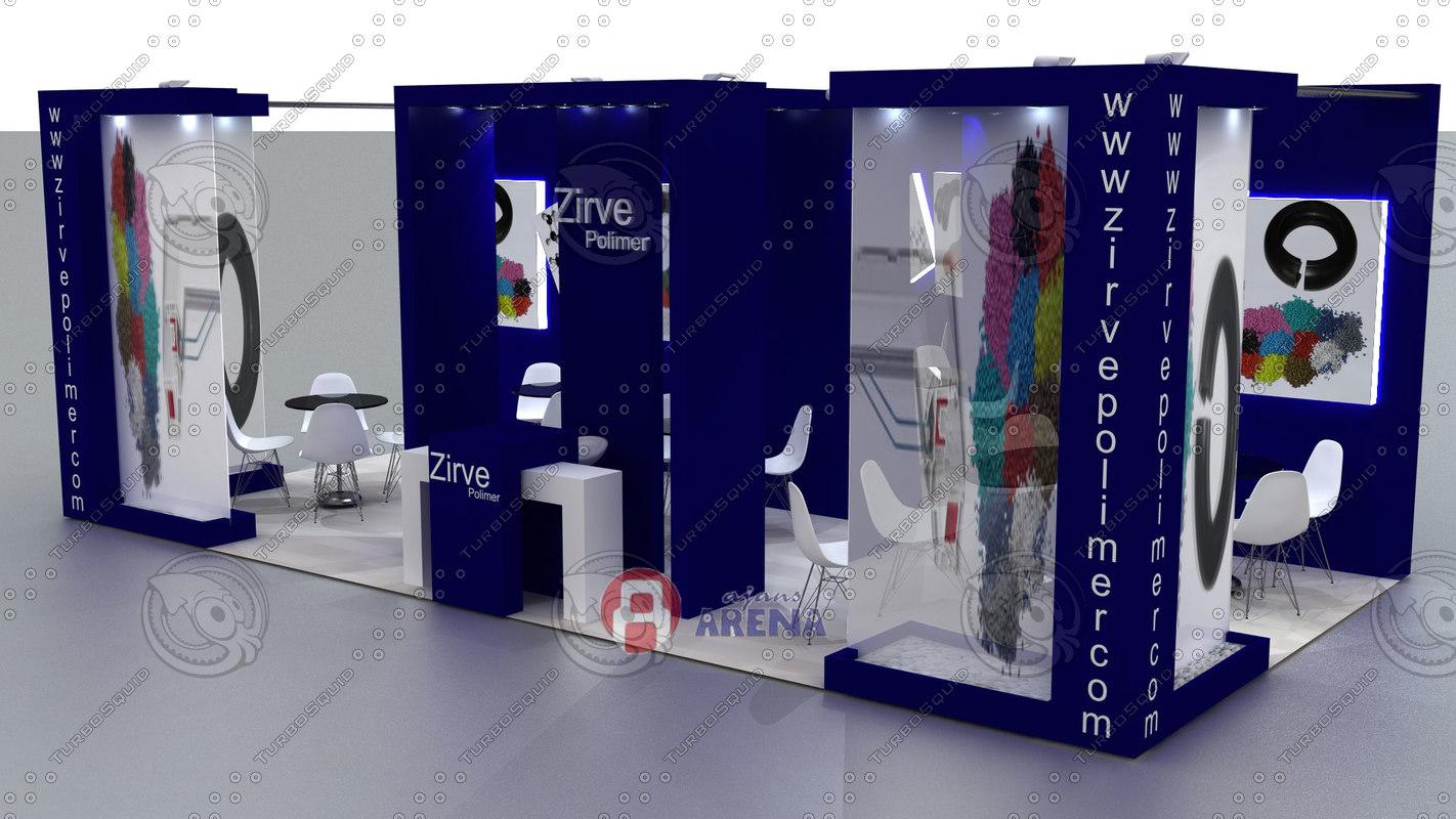 Exhibition Stand Design Presentation : D fair stand exhibition presentation model