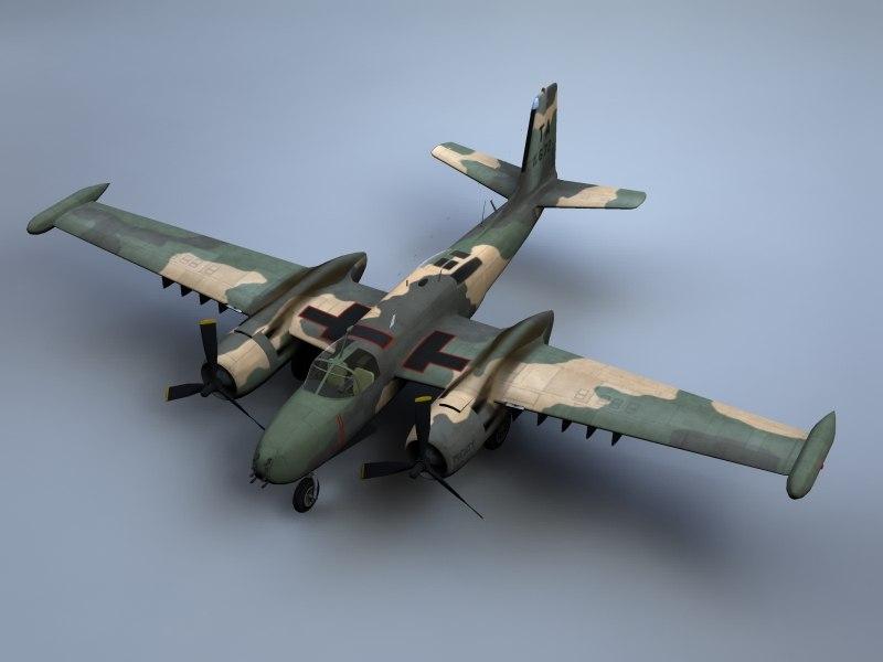a-26 invader bomber a-26k max
