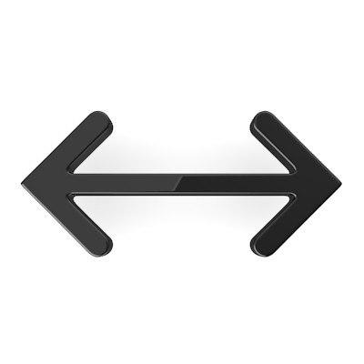 3d arrow model