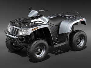 atv quad ac700 3d model