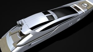 motor yacht details modelled ma