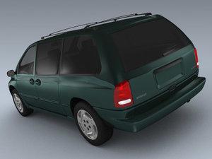 dodge caravan 2001 max