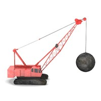 destruction crane1