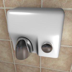 3ds hand dryer dry