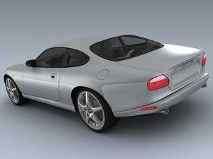 xkr 2003 3d model