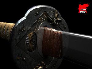 3ds max japan sword katana
