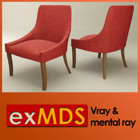 Dressing Room Chair (vray & mr)