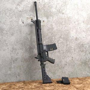 para tactical target 3d model