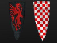 3ds set kite shields
