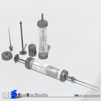 3ds max old syringe
