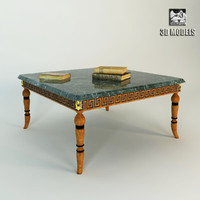 3d max francesco molon table