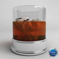 whiskey glass dxf
