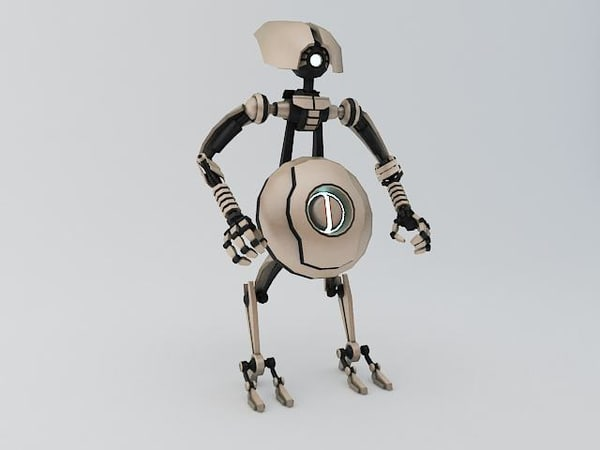 3d robot ptp202 model