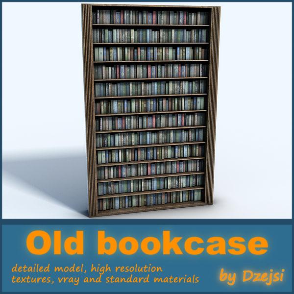 old bookcase max
