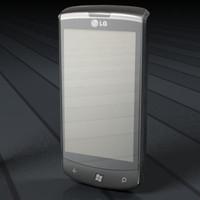 LG e900 smartphone