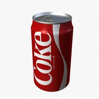 3ds max soda drink