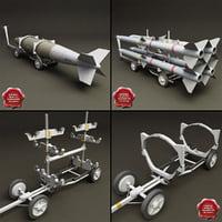 bomb carts v2 3d model