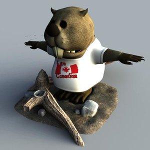 maya beaver cartoon
