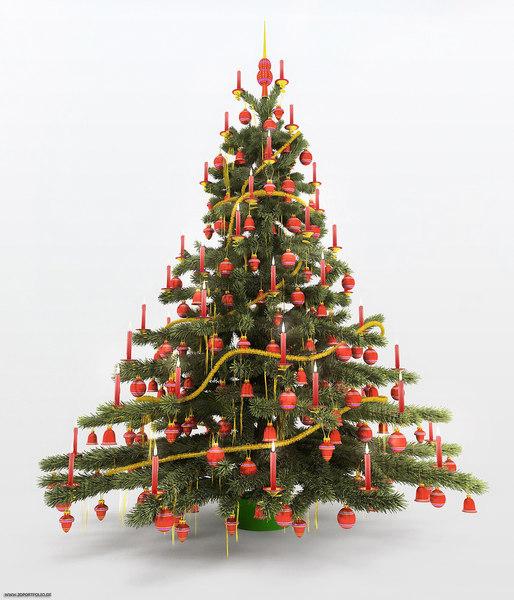 3ds christmas tree